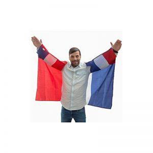Drapeau-cape Equipe de France supporter 150x90cm de la marque Th3 Party image 0 produit