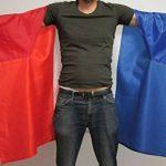 DRAPEAU CAPE FRANCE 150x90cm - BODY FLAG SUPPORTER FRANÇAIS 90 x 150 cm - AZ FLAG de la marque AZ FLAG image 1 produit