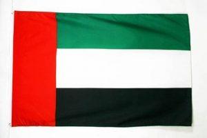 DRAPEAU EMIRATS ARABES UNIS 150x90cm - DRAPEAU ÉMIRATI 90 x 150 cm - DRAPEAUX - AZ FLAG de la marque AZ FLAG image 0 produit
