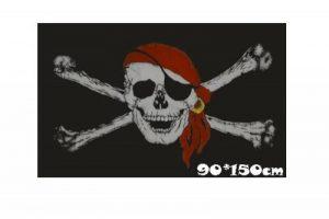 Drapeau flag Tête de mort, pirate ,150*90cm tissus 100% polyester neuf de la marque drapeau image 0 produit