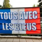 Drapeau France tous avec les bleus 90×150 cm. 4 oeillets de fixation. Coupe du monde 2018 de la marque Drapeau des Bleus image 1 produit