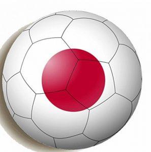 Drapeau Japon sur Football Round Hand Held Miroir imprimé conçu pour 58mm grande Maquillage Miroir compact de la marque KABOOM GIFTS image 0 produit