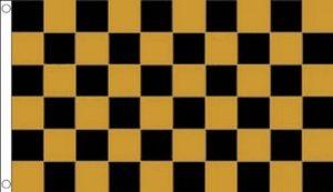 drapeau jaune et noir TOP 2 image 0 produit