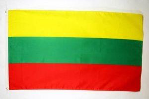 DRAPEAU LITUANIE 90x60cm - DRAPEAU LITUANIEN 60 x 90 cm - DRAPEAUX - AZ FLAG de la marque AZ FLAG image 0 produit