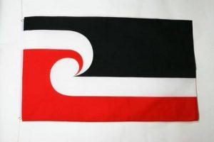 DRAPEAU MAORI 150x90cm - DRAPEAU NÉO-ZÉLANDAIS - NOUVELLE-ZÉLANDE 90 x 150 cm - DRAPEAUX - AZ FLAG de la marque AZ FLAG image 0 produit