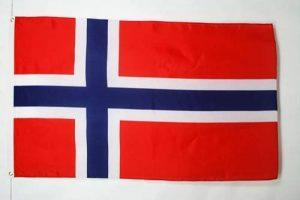 DRAPEAU NORVÈGE 250x150cm - GRAND DRAPEAU NORVÉGIEN 150 x 250 cm - AZ FLAG de la marque AZ FLAG image 0 produit