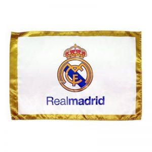 DRAPEAU OFFICIEL REAL MADRID MODÈLE BLANC 150 X 100 CM de la marque Real Madrid image 0 produit