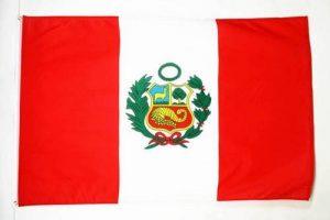DRAPEAU PÉROU 150x90cm - DRAPEAU PÉRUVIEN 90 x 150 cm - DRAPEAUX - AZ FLAG de la marque AZ FLAG image 0 produit