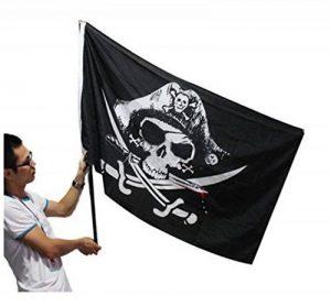 drapeau rouge et noir TOP 13 image 0 produit