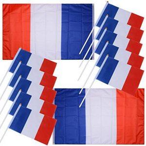 drapeau tricolore TOP 7 image 0 produit