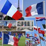 drapeau tricolore TOP 7 image 4 produit