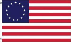 DRAPEAU USA 13 ÉTOILES BETSY ROSS 150x90cm - DRAPEAU AMÉRICAIN - ETATS-UNIS 90 x 150 cm - DRAPEAUX - AZ FLAG de la marque AZ FLAG image 0 produit
