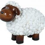 drolliges Mouton Statue de jardin résistant aux intempéries peint à la main Figurine animale Figurine de la marque colourliving image 1 produit