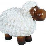 drolliges Mouton Statue de jardin résistant aux intempéries peint à la main Figurine animale Figurine de la marque colourliving image 2 produit