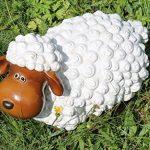 drolliges Mouton Statue de jardin résistant aux intempéries peint à la main Figurine animale Figurine de la marque colourliving image 4 produit