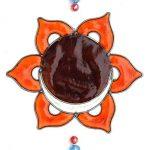 Effet Verre Vitrail Motif chakra–Produit du commerce équitable de la marque Geofossils image 3 produit