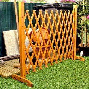 """Élargir écran de jardin Clôture Trellis style étend à 6'4 """"autoportante bois de la marque Great Ideas By Post image 0 produit"""