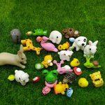 Emien 31pièces Mini animaux miniature Ornement Ensemble, Miniature Ornement kit pour DIY Décoration Dollhouse Fée de Décor de jardin de la marque EMiEN image 1 produit