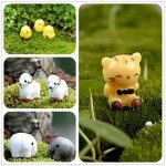 Emien 31pièces Mini animaux miniature Ornement Ensemble, Miniature Ornement kit pour DIY Décoration Dollhouse Fée de Décor de jardin de la marque EMiEN image 3 produit