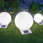 Esotec Boule De Lumière Solaire Jardin Trendy 300 Mm 106042 Led Inox Eclairage Extérieur de la marque Esotec image 3 produit