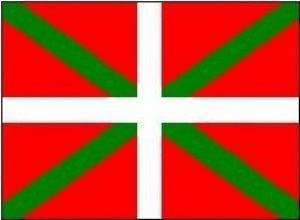 Espagne drapeau Basque-Ikurriña 150 cm x 90 cm de la marque 1000 Flags image 0 produit