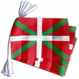 Espagne DRAPEAU PaYS Basque-Basque Polyester guirlande de 9 m de la marque Top Brand image 0 produit