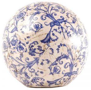 Esschert Design Boule en ceramique bleue Modello grande de la marque Esschert Design image 0 produit