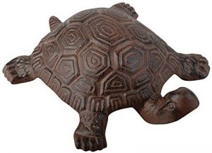 esschert Design Statue de jardin en forme de tortue En fonte Marron, marron, 18,8cm de la marque esschert image 0 produit
