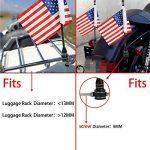 Etbotu Moto arrière American USA Drapeau Pole Décoration pour Harley Xl883120048 de la marque Etbotu image 4 produit