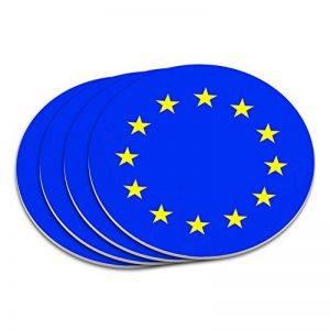 EU Union Européenne Europe National Pays Drapeau sous-verres de la marque Graphics and More image 0 produit