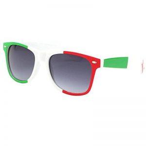 Eye Wear Lunettes de soleil Italie Verte Blanche et Rouge - Mixte de la marque Eye Wear image 0 produit