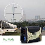 Eyoyo Télémètre de Golf et de Chasse5-700 Yard 6x Multifonction Étanche RangeFinder Fonction de télémétrie, scan, verrou de mât du drapeau, brouillard et vitesse de la marque Eyoyo image 3 produit