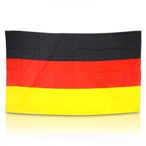 FahnenMax® Drapeau mm Drapeau de l'Allemagne/dans le grand format 150x 90cm de la marque FahnenMax® image 0 produit