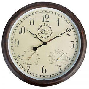 Fallen Fruits Horloge thermomètre hygromètre extérieure 37x6.5cm de la marque Fallen Fruits image 0 produit