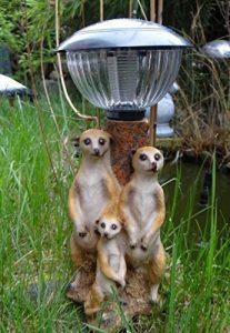 Famille Suricate avec lanterne solaire lampe suricate Figurine de la marque Unbekannt image 0 produit