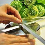 FAS1 Moderne DIY Grand Pendule Murale Chiffres Romains Big Montre Stickers 3D Horloge Montre Murale Home Office Décoration Amovible (Batterie Non Inclus) Noir de la marque FAS1 image 3 produit