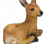 Figurine Chevreuil Faon Bambi rouge Wild couché Décoration de jardin Marron Figurine animale de la marque colourliving image 1 produit