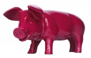 Figurine de cochon «porcelets brommel «mûre décoration de jardin 60 cm de la marque colourliving image 0 produit