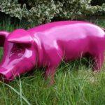 Figurine de cochon «porcelets brommel «mûre décoration de jardin 60 cm de la marque colourliving image 2 produit