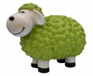 """Figurine de mouton'andy"""" vert multicolores de décoration et pas seulement pour le jardin de la marque colourliving image 0 produit"""
