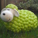 """Figurine de mouton'andy"""" vert multicolores de décoration et pas seulement pour le jardin de la marque colourliving image 4 produit"""