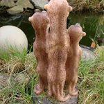 Figurine famille de suricates pour décoration de jardin 20 cm de la marque Unbekannt image 1 produit