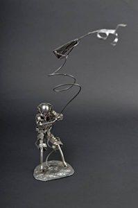 Figurine metal faite main Statuette design cerf-volant Deco maison originale de la marque Madeheart image 0 produit