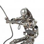 Figurine metal faite main Statuette design cerf-volant Deco maison originale de la marque Madeheart image 4 produit