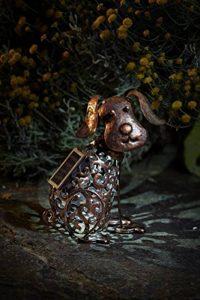 Figurine Métal Lumineuse Solaire à LED Pour Jardin (Chien) de la marque Smart Garden image 0 produit