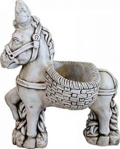 Figurine âne de Pierre pour jardin ou jardin 54cm de la marque DEGARDEN image 0 produit