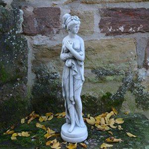 Figurine Pandora magnifique sur socle en pierre Fonte au gel Espace Décoration Jardin de la marque gartendekoparadies.de image 0 produit