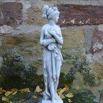 Figurine Pandora magnifique sur socle en pierre Fonte au gel Espace Décoration Jardin de la marque gartendekoparadies.de image 1 produit