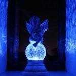 fonctionne à l'énergie solaire Fée Ange Chérubin figurine de jardin Résine Statue Maison Hut® de la marque HOME HUT® image 2 produit
