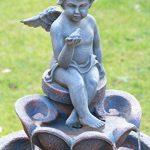 """Fontaine Bain d'Oiseaux Solaire """"Minel"""" par Solaray™ de la marque Primrose image 2 produit"""